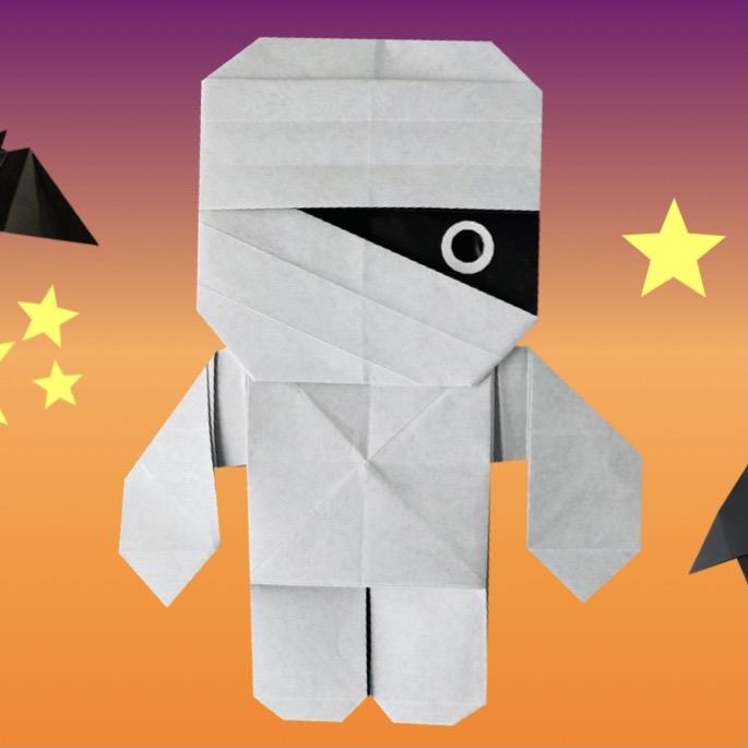 カミキィさんによるミイラ男の折り紙